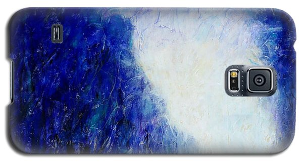 Blue Landscape - Abstract Galaxy S5 Case