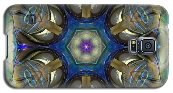 Blue Light Angel Mandala Galaxy S5 Case