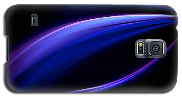 Blue Purple Light Galaxy S5 Case