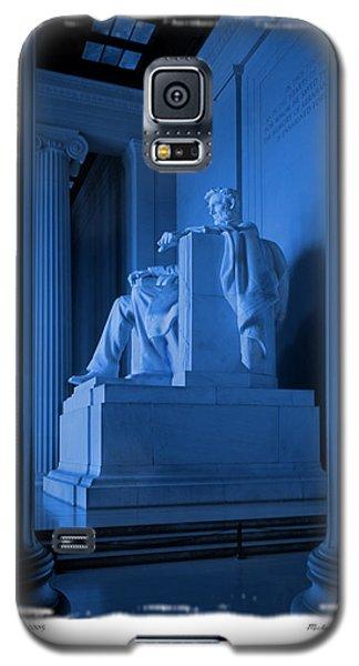 Blue Lincoln Galaxy S5 Case