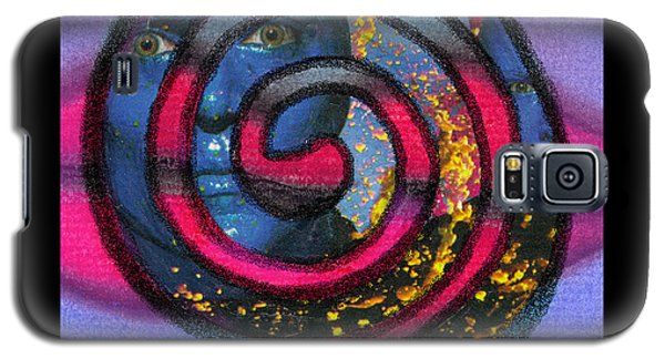 Blue Man Group Spiral Galaxy S5 Case