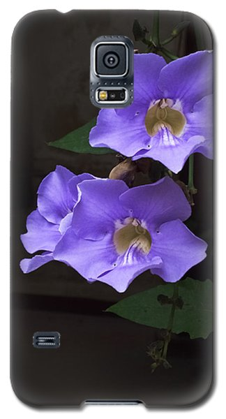 Blue Mandevillas Galaxy S5 Case