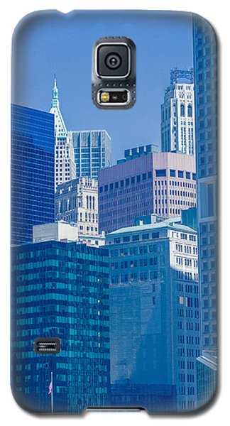 Blue Manhattan Galaxy S5 Case