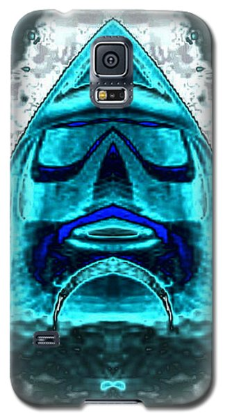 Blue Mask Galaxy S5 Case