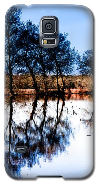 Blue Mirror Galaxy S5 Case