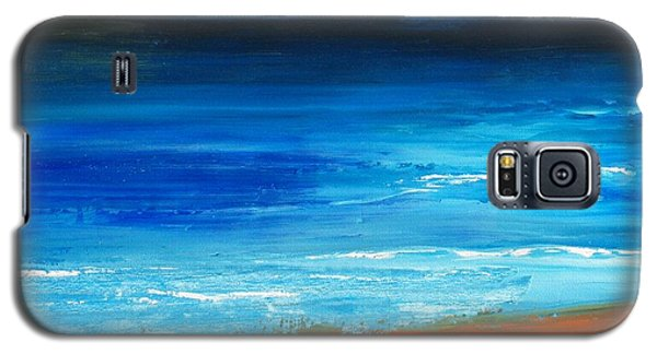 Blue Mist Over Nantucket Island Galaxy S5 Case by Conor Murphy