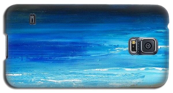 Blue Mist Over Nantucket Island Galaxy S5 Case