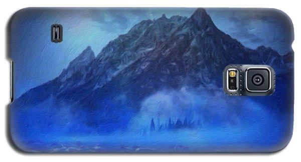 Blue Mist Rising Galaxy S5 Case