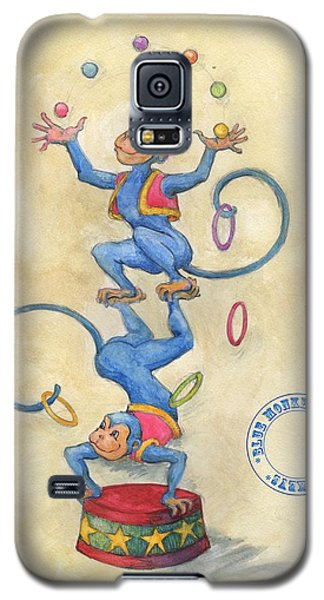 Blue Monkeys Galaxy S5 Case