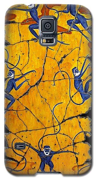Blue Monkeys No. 41 Galaxy S5 Case