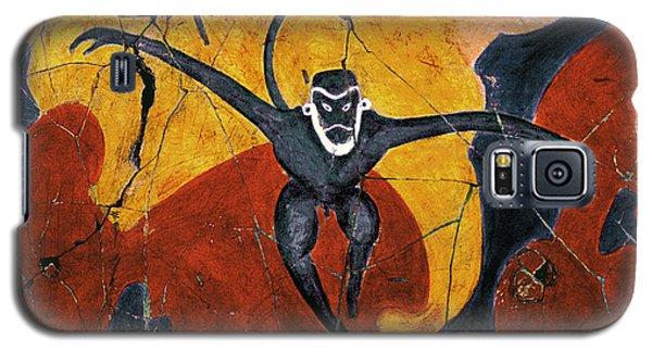 Blue Monkeys No. 8 - Study No. 3 Galaxy S5 Case