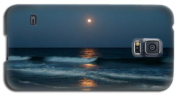 Galaxy S5 Case featuring the photograph Blue Moon by Cynthia Guinn