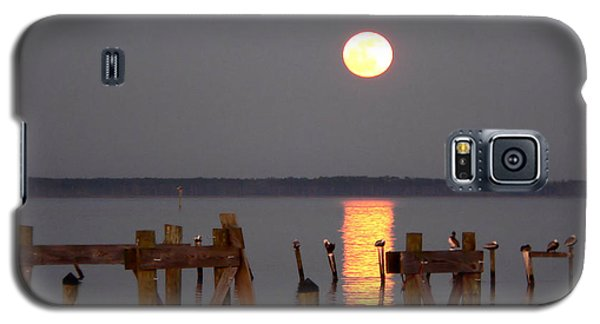 Blue Moon On The Bay On New Years Eve 2009 Galaxy S5 Case