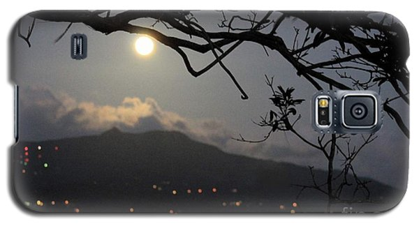 Blue Moon Over El Yunque Galaxy S5 Case