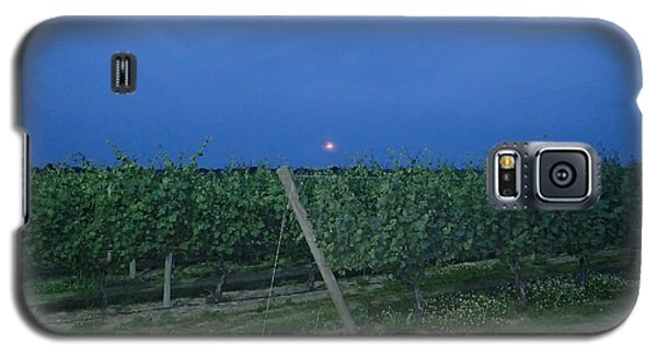 Galaxy S5 Case featuring the photograph Blue Moon by Robert Nickologianis