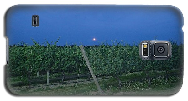 Blue Moon Galaxy S5 Case by Robert Nickologianis