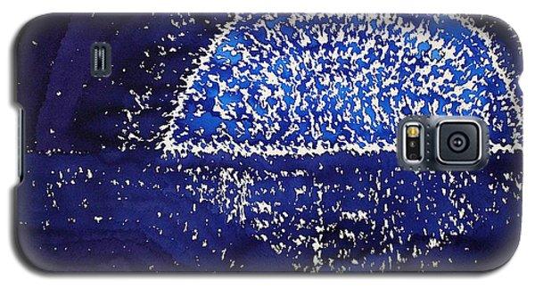 Blue Moonrise Original Painting Galaxy S5 Case