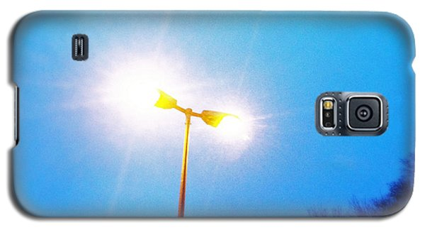 Blue Morning - Bright Beam Of Light Galaxy S5 Case