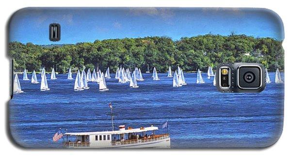 Blue Morning Cruise - Lake Geneva Wisconsin Galaxy S5 Case
