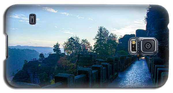 Blue Morning On The Bastei Galaxy S5 Case
