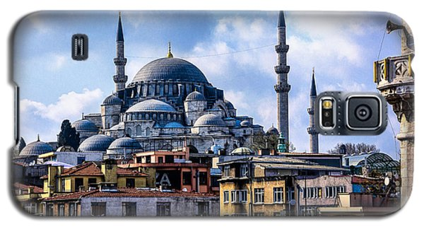Blue Mosque In Istanbul Galaxy S5 Case by Marion McCristall