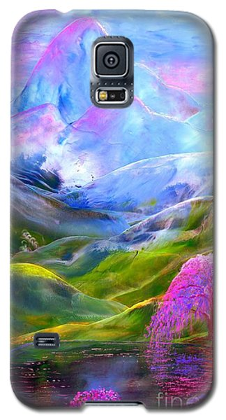 Blue Mountain Pool Galaxy S5 Case by Jane Small