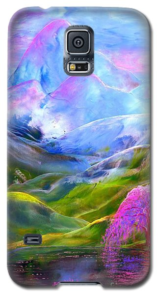 Blue Mountain Pool Galaxy S5 Case