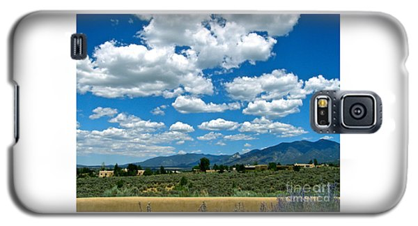 Blue Mountain Skies Galaxy S5 Case