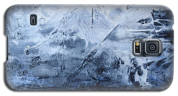 Galaxy S5 Case featuring the photograph Blue Mountain by Susan  Dimitrakopoulos