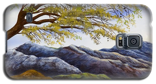Blue Mountains Galaxy S5 Case by Susan Culver