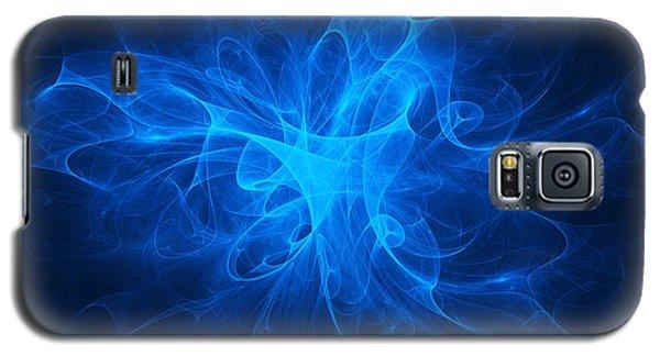 Blue Nebula Galaxy S5 Case by Vitaliy Gladkiy