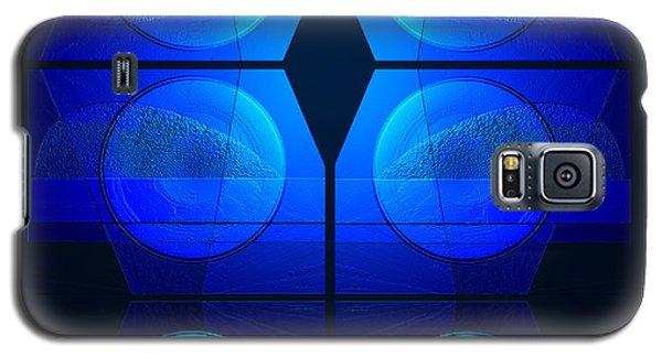 Blue Night Galaxy S5 Case by Steve Godleski