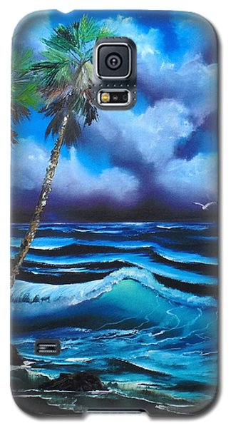 Blue Ocean Wave Galaxy S5 Case