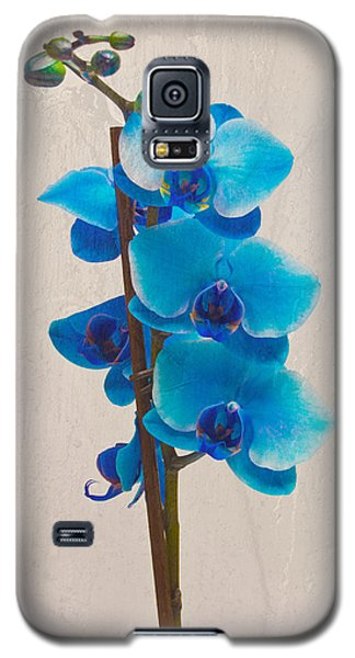 Blue Orchid Galaxy S5 Case by Scott Carruthers