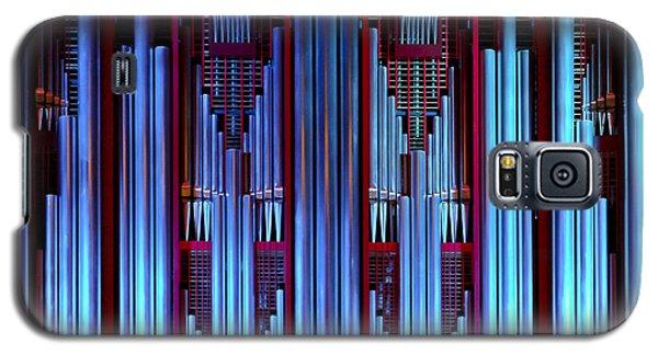 Blue Organ Pipes Galaxy S5 Case
