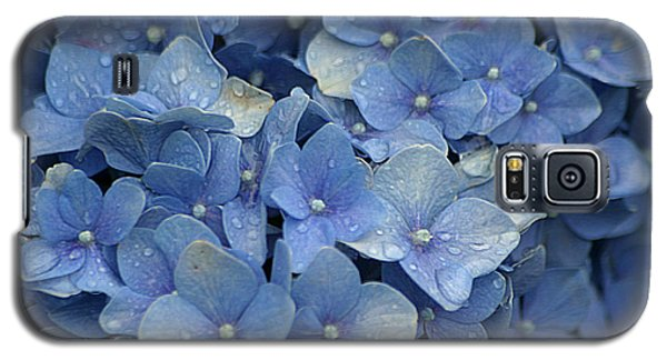 Blue Over You With Tears Galaxy S5 Case