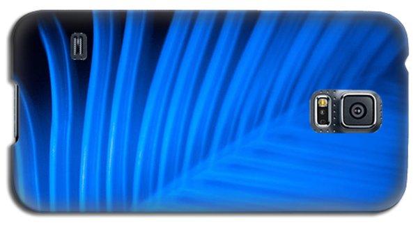 Blue Palm Galaxy S5 Case