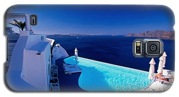 Blue Paradise Galaxy S5 Case by Aiolos Greek Collections