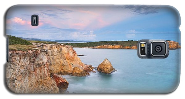 Galaxy S5 Case featuring the photograph Blue Paradise by Photography  By Sai