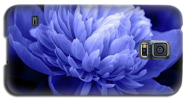 Blue Peony Galaxy S5 Case