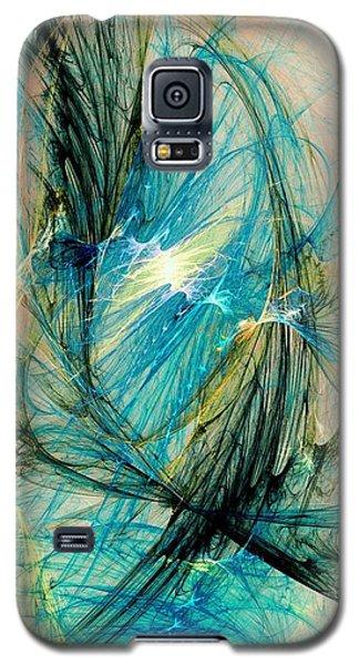 Blue Phoenix Galaxy S5 Case by Anastasiya Malakhova