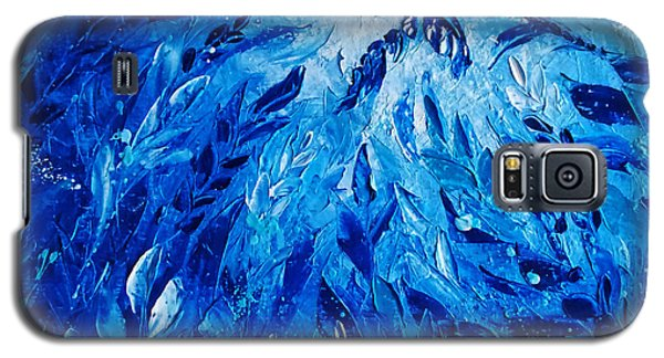 Blue Phoenix Galaxy S5 Case