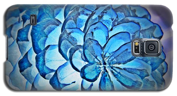 Blue Pine Cone 2 Galaxy S5 Case