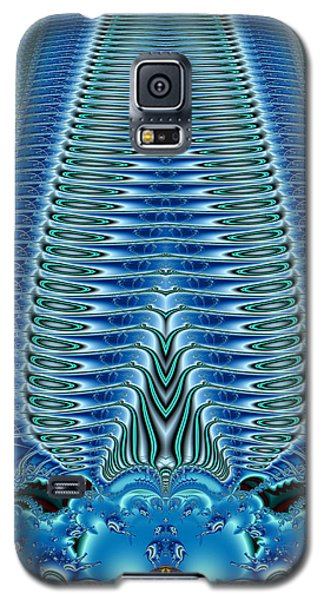 Blue Plume Galaxy S5 Case by Jim Pavelle