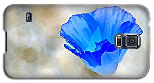 Blue Poppy Galaxy S5 Case