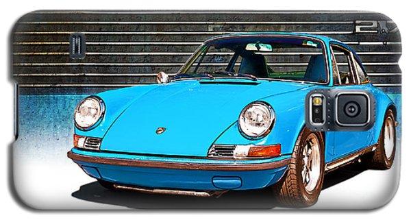 Blue Porsche 911 Galaxy S5 Case