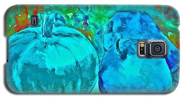 Blue Pumpkin Galaxy S5 Case by Jessamine Barron