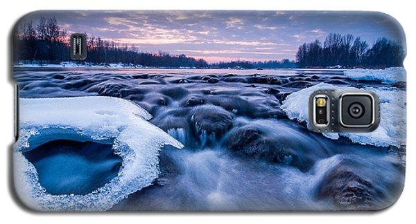 Blue Rapids Galaxy S5 Case by Davorin Mance