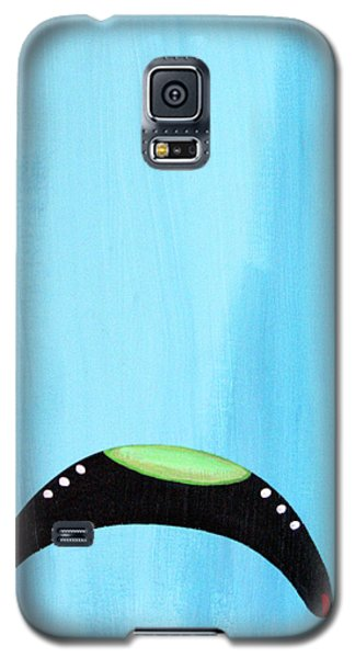 Blue Raspberry Ufo Galaxy S5 Case
