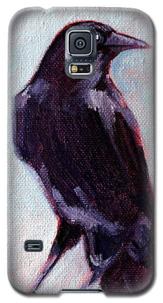 Blue Raven Galaxy S5 Case by Nancy Merkle